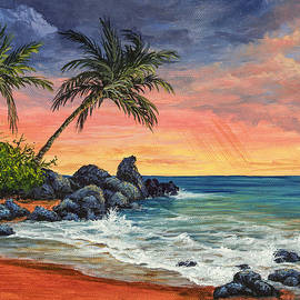 Makena Beach Sunset by Darice Machel McGuire
