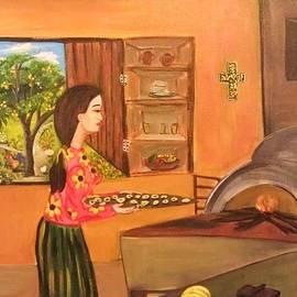Deyanira Harris - Making Rosquillas
