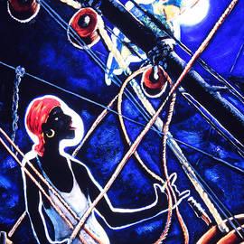 David Larcade - Man on a Boat