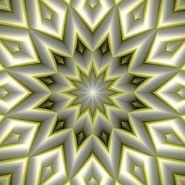 Terry Reynoldson - Mandala 107 Yellow