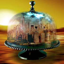 Manhattan Under the Dome by Marian Voicu