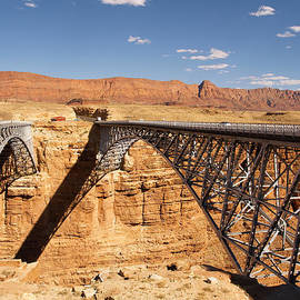 Marble Canyon bridges by Kenneth Sponsler