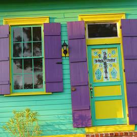 Mardi Gras House by Jeanne  Woods