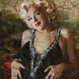 Marilyn  'Mona Lisa' 1 A by Theo Danella