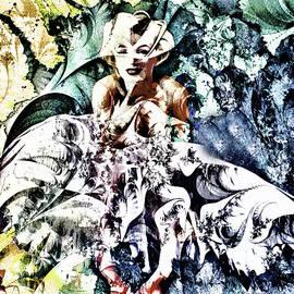 Georgiana Romanovna - Marilyn Monroe and The White Dress - Grunge