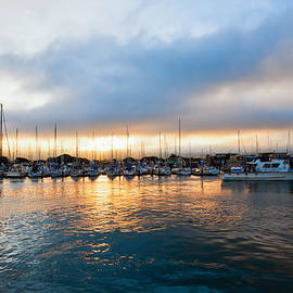 Marina Sunrise 1 by Jim Thompson