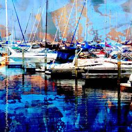 Anita Burgermeister - Marina w Painted Abstract