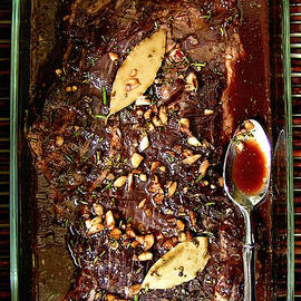 Marinating Flank Steak by James Temple