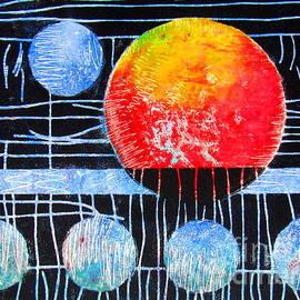 Mars on White by Pamela Iris Harden