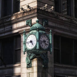 Thomas Woolworth - Marshall Fields Clock Two Sides
