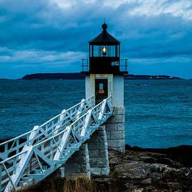 David Smith - Marshall Point Light at Dusk 1