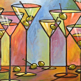 Amy Giacomelli - Martini Bar ... Abstract alcohol art