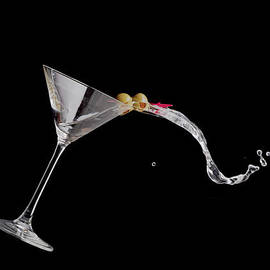 Martini Spill by Alexey Stiop