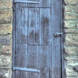 Maryland Country Roads - Doors of Libertytown-1A by Michael Mazaika