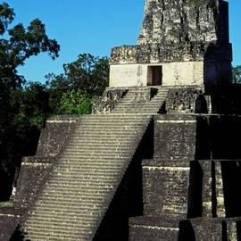 Mayan Ruins - Tikal Guatemala by Juergen Weiss