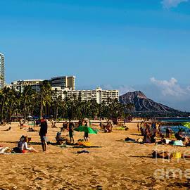 Meanwhile On The Beach by Jon Burch Photography