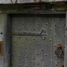 Medieval Door by Denise Mazzocco