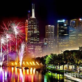 Az Jackson - Melbourne Fireworks Spectacular