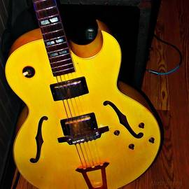 Mellow Yellow Gibson Guitar by Chris Berry