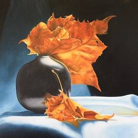 Memories of Fall - Oil Painting by Roena King