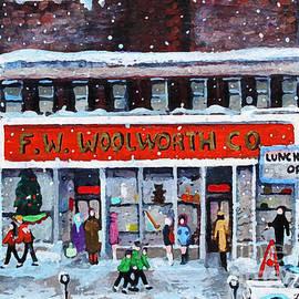Rita Brown - Memories of Winter at Woolworth