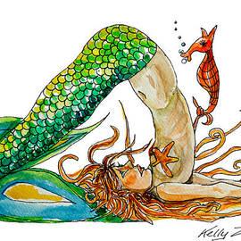 Kelly ZumBerge - Mermaid Plow Pose