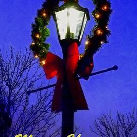 Cheryl Hardt Art - Merry Christmas - 5x7 Greeting Card