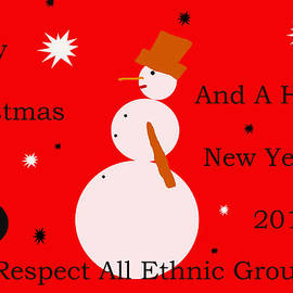Sir Josef - Social Critic -  Maha Art - Merry Christmas Card