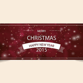 Merry Christmas Happy New Year 2015 by Florian Rodarte
