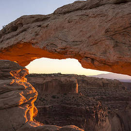 Mesa Arch Sunrise 2 - Canyonlands National Park - Moab Utah by Brian Harig