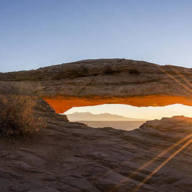 Mesa Arch Sunrise 7 - Canyonlands National Park - Moab Utah by Brian Harig