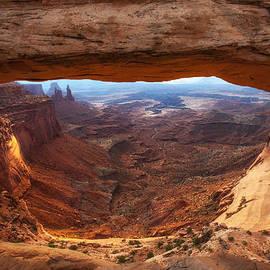 Darren  White - Mesa Sunrise Window