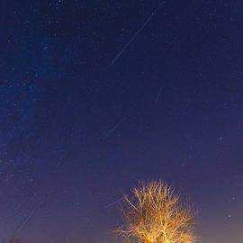Meteor shower by Alexey Stiop