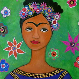 Mexican Artist Frida Kahlo by Pristine Cartera Turkus