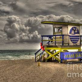 Timothy Lowry - Miami Beach Lifeguard Stand