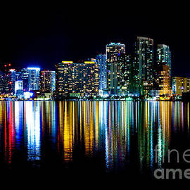 Miami Skyline high res by Rene Triay Photography