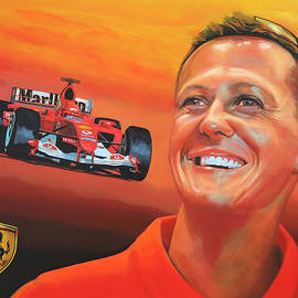 Michael Schumacher 2 by Paul Meijering