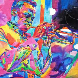 Miles Davis Bebop by David Lloyd Glover