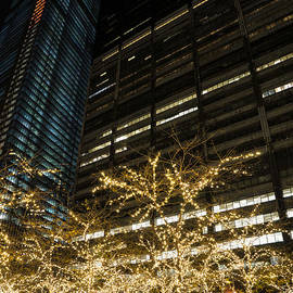 Millions of Christmas Lights in the Heart of Manhattan New York City