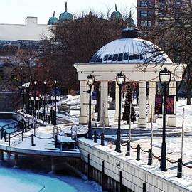 David Blank - Milwaukee River Walk 3 - Pere Marquette Park - Winter 2013