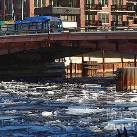 David Blank - Milwaukee River - Winter 2014