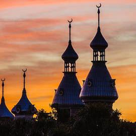 Minarets against Winter Sky by Jeff Donald