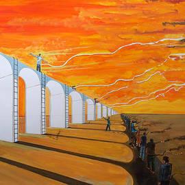 Lazaro Hurtado - Mirages of lives - the path -