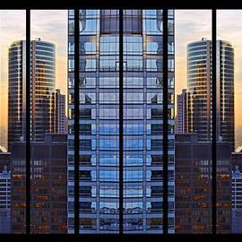 Mirrored Symmetry by Leda Robertson
