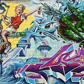 Charles A LaMatto - Misfit Mural
