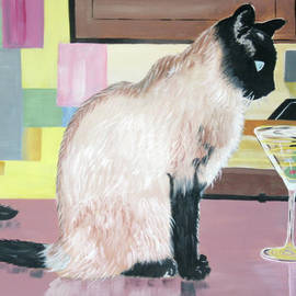Miss Kitty and Her Treat by Phyllis Kaltenbach