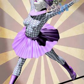 Quim Abella - Miss Pierrette tightrope