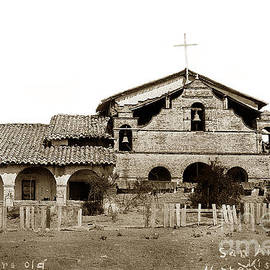 Mission San Antonio de Padua California circa 1881 by California Views Archives Mr Pat Hathaway Archives