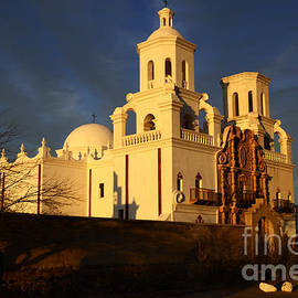 Bob Christopher - Mission San Xavier Del Bac Last Light