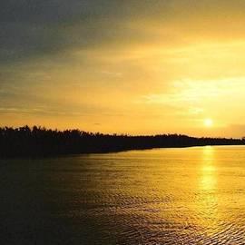 Michael Hoard - Sunrise Over The Mississippi River Post Hurricane Katrina Chalmette Louisiana USA